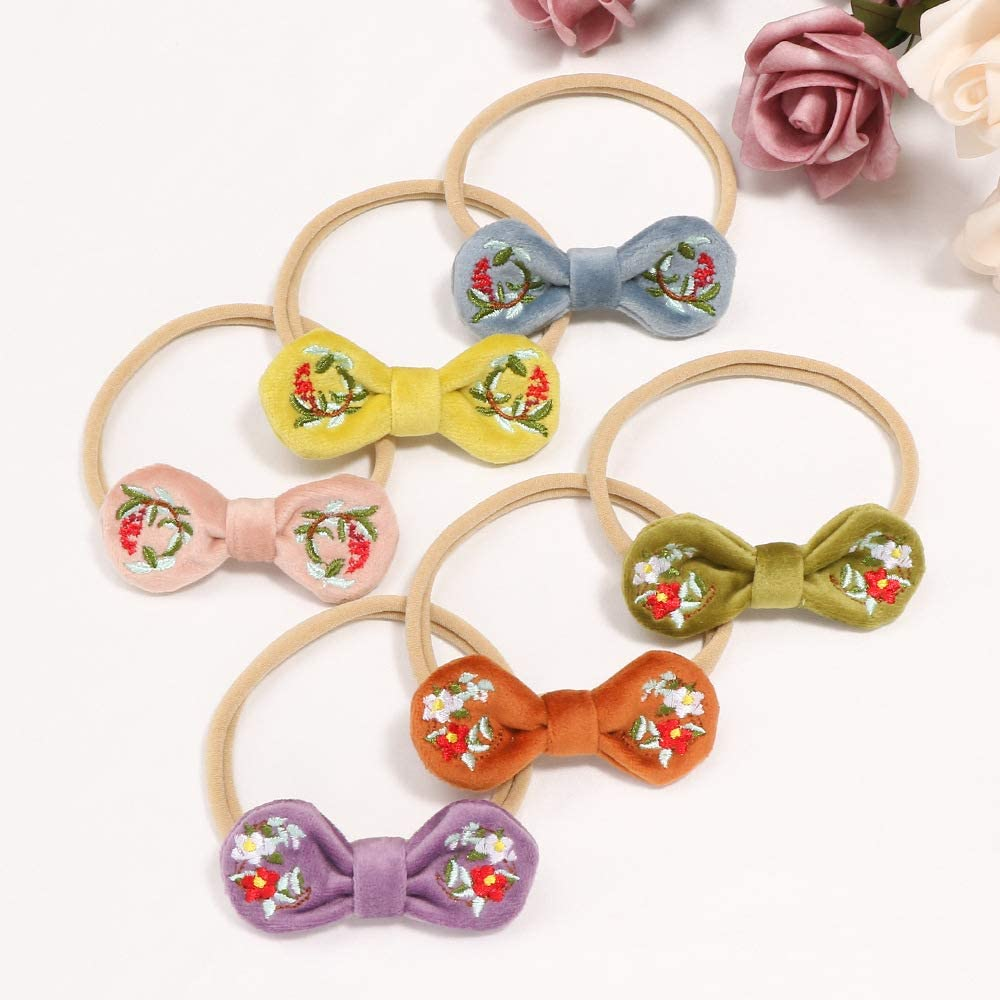 Baby Headbands Girls Newborn Infant Toddler Hairbands and Big Bows