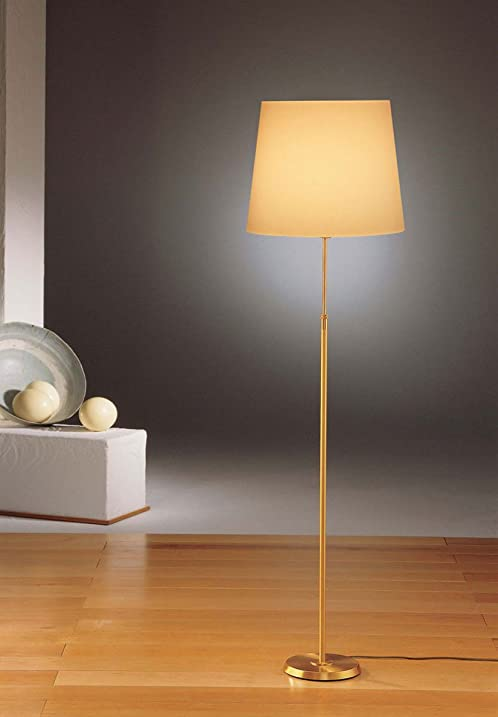 Holtkoetter 6354 bb kprg incandescent shaded floor lamp brushed holtkoetter 6354 bb kprg incandescent shaded floor lamp brushed brass with kupfer regular shade aloadofball Gallery