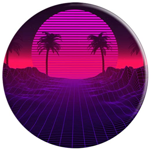 Amazon.com: Vaporwave – Soporte estético para palmeras de ...