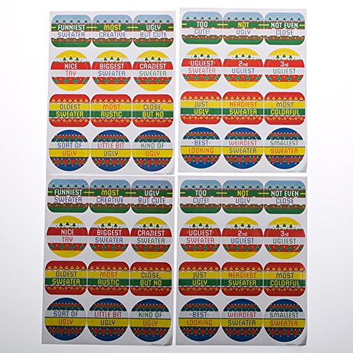 Fun Express 146 2301 Sweater Stickers