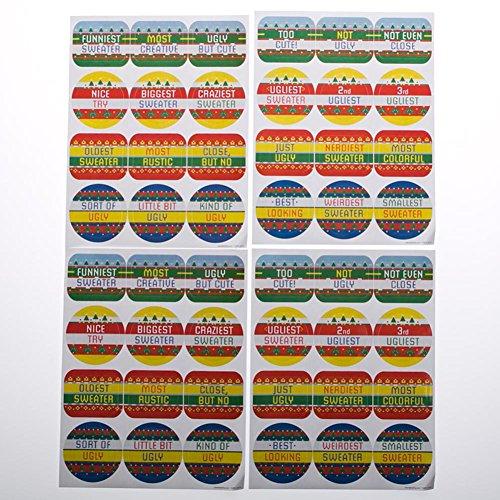 Fun Express 146 2301 Sweater Stickers