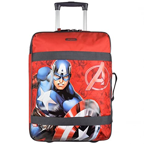 9e76d8062 Samsonite Equipaje Infantil, Avengers Triangle 63466-4739: Amazon.es ...