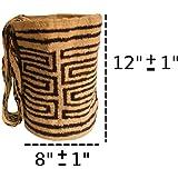 DAGUA 100% untreated wool indigenous bag mochila handmade by the Iku tribe in Sierra Nevada