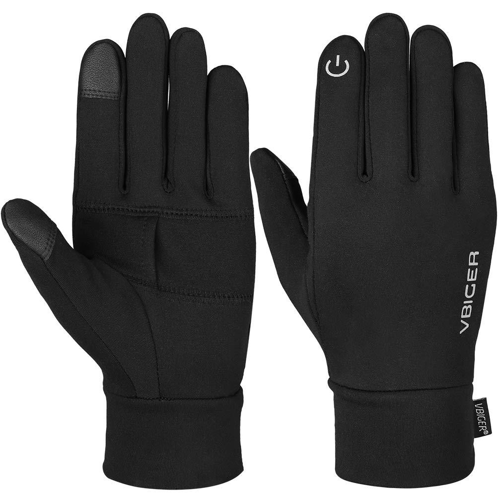 d56fb75b0f8364 Vbiger Herren Touchscreen Handschuhe Winterhandschuhe Anti-Rutsch Outdoor  Sport Handschuhe Fahren Radfahren Handschuhe mit Fleece
