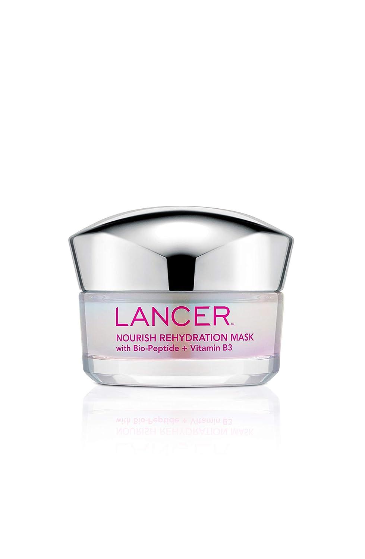 Nourish Rehydration Mask with Bio-Peptide + Vitamin B3, 1.7 FL OZ, Dr. Lancer Dermatology Skincare, Multi-Use, Intensive Hydrating Mask, Use 1 to 2 Times Weekly