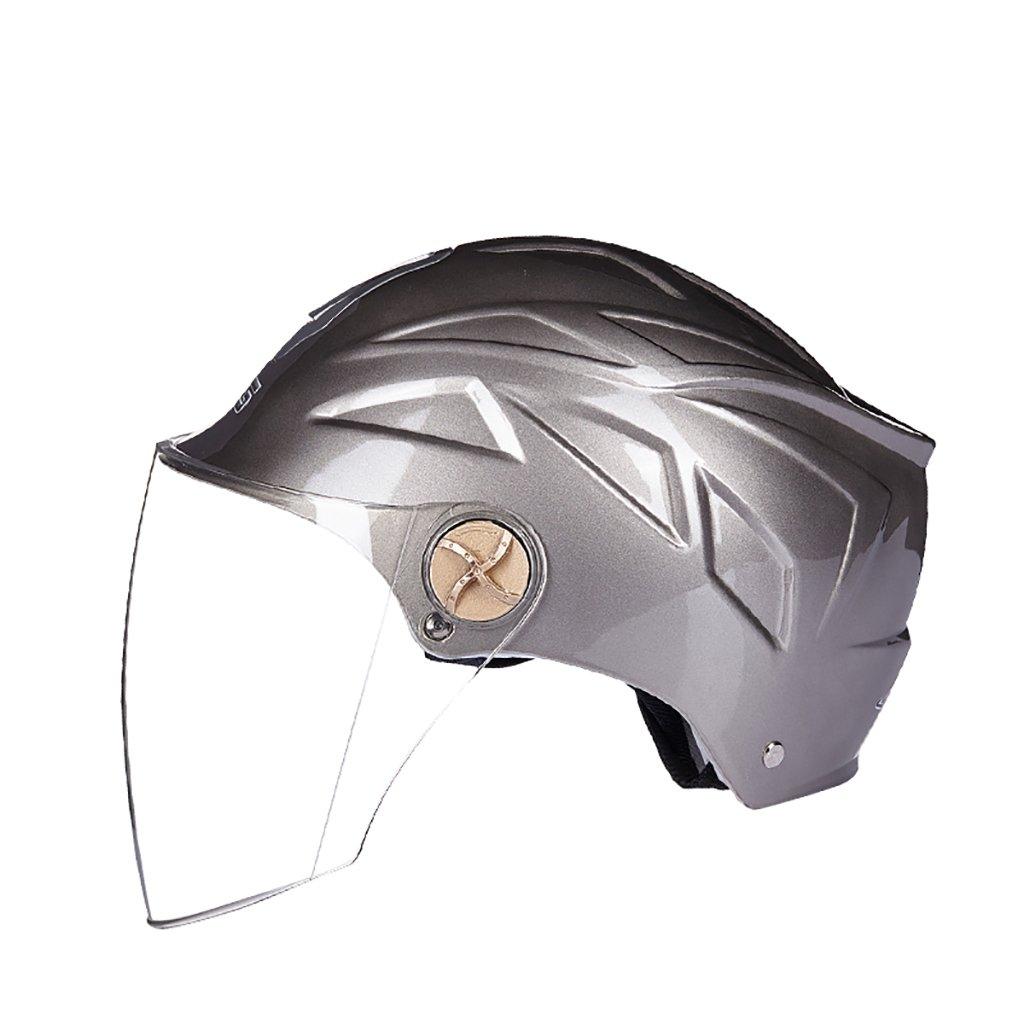 品質満点! ヘルメット ヘルメット :/UV保護オートバイのヘルメット夏の日の保護ヘルメット色のオプションのヘルメットのパーソナリティファッションの様々な ヘルメット (色 : グレー) B07D8Y2BWH B07D8Y2BWH グレー, 大分県:aa426a92 --- a0267596.xsph.ru