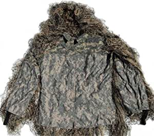 Synthetic Ultra-Light Sniper Ghillie ATD BDU Mossy Jacket 2XL