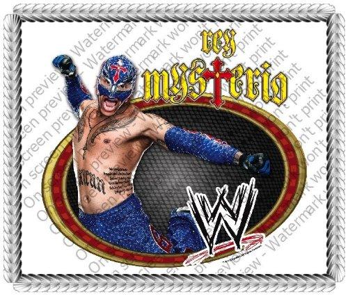 14 Sheet Rey Mysterio Wwe Wrestling Birthday Edible Image Cake