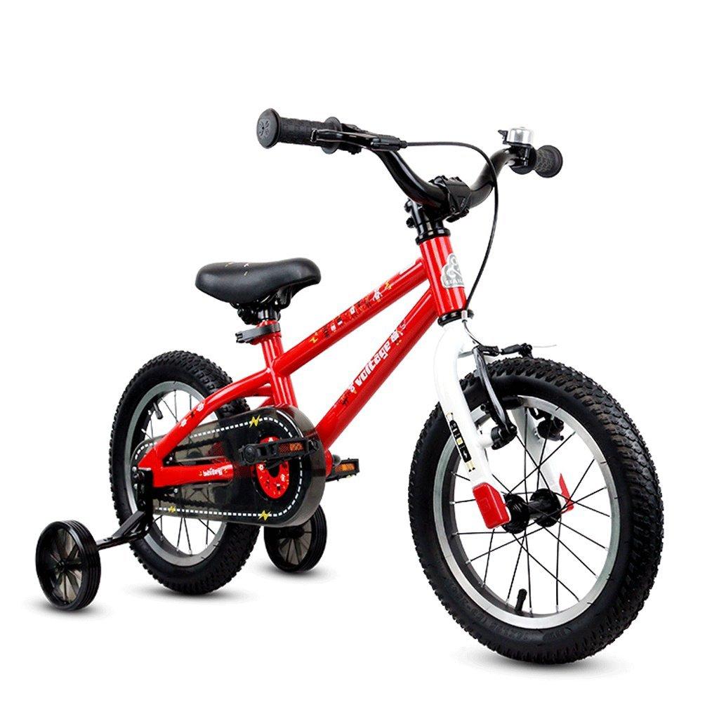 ベビーキャリッジ子供用自転車14/16インチ男性と女性のベビーカー3-12歳の学生自転車 (サイズ さいず : 14 inches) B07D539LZG 14 inches 14 inches