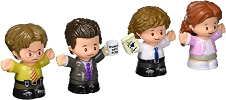 The Office Figure Set, 4 Character Figures