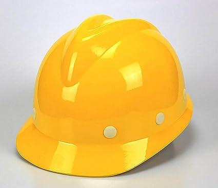 Casco De Protección FRP De Tipo V Anti - Rompiendo Seguro De Trabajo Cascos Construcción Casco