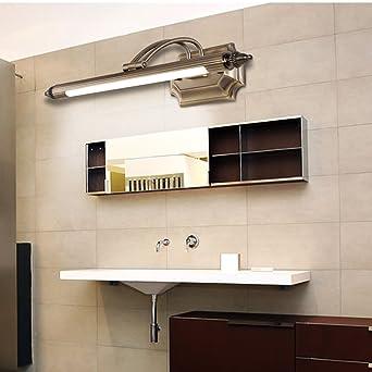 Espejo Luz euro americano luces LED espejo del baño espejo de óxido gabinete de lámparas de