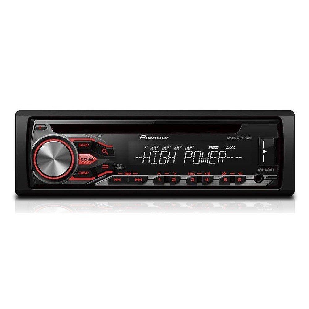 Pioneer DEH-4800FD CD Tuner mit High Power Pioneer Electronics Deutschland - ZN Europe NV