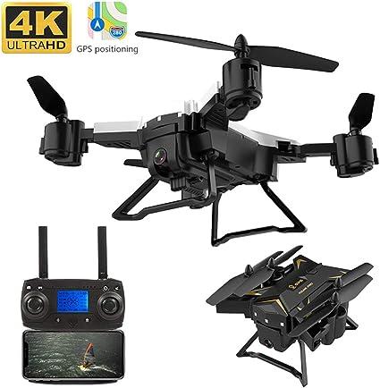 Zinniaya KY601g 5G WiFi Drone Control remoto FPV 4 ejes GPS Antena ...