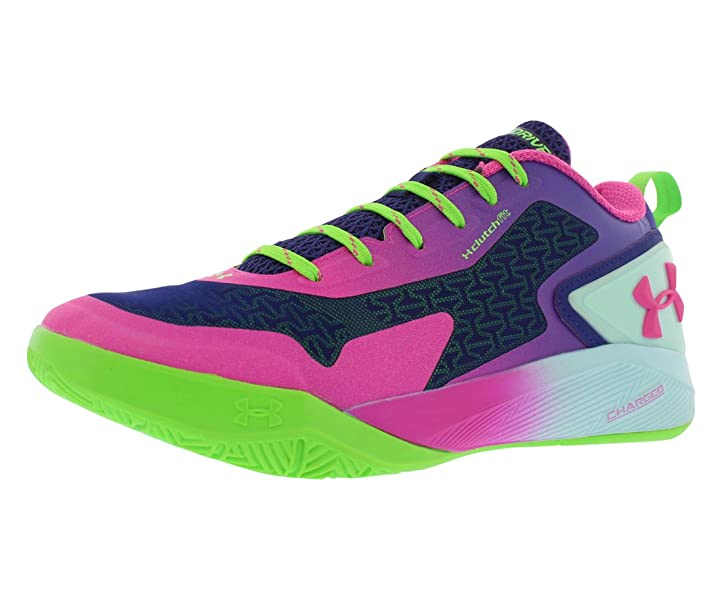 35ceb280eff8 ... clearance amazon under armour mens ua clutchfit drive 2 low 8.5 dm us  pink blue green