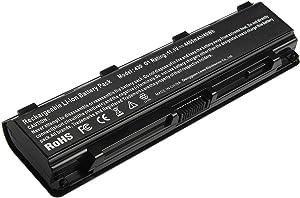 Replacement Laptop Battery PA5109U-1BRS Compatible with Toshiba Satellite PABAS271 PABAS272 PABAS273 PA5110U-1BRS PA5108U-1BRS 6-Cell Li-Ion