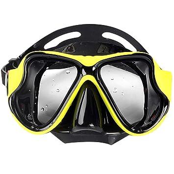 YONG FEI Gafas de natación - máscara de Espejo de Buceo ...