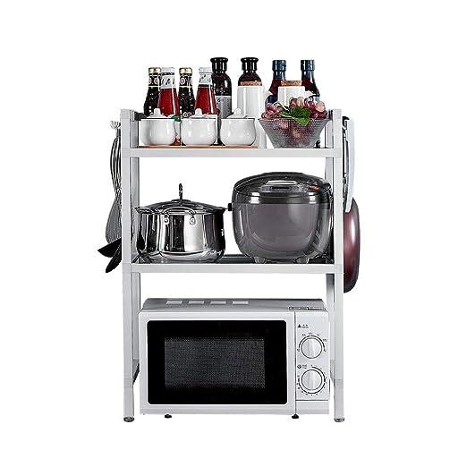 XH Shop Cocina Estante Horno de microondas Estante de arroz ...