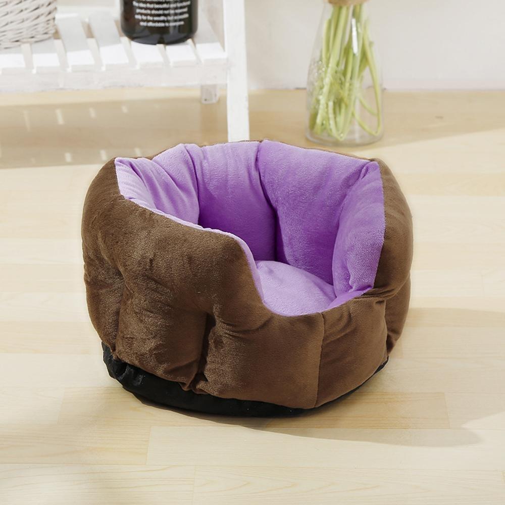 C 63cm19cm C 63cm19cm Pet Bolster Dog Bed Comfort Four Seasons General Dog kennel Cat Pet Nest Non Slip Cushion Pad (color   C, Size   63cm19cm)