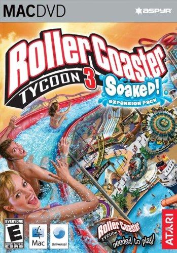 RollerCoaster Tycoon 3: Soaked - Mac (Tycoon Roller Coaster 3 Platinum)