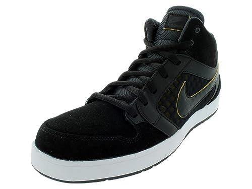 7c0231e7098d Nike Men s Mogan MID 3 Skate Shoes 9 (Black Black Anthracite TR Yellow)   Amazon.ca  Shoes   Handbags