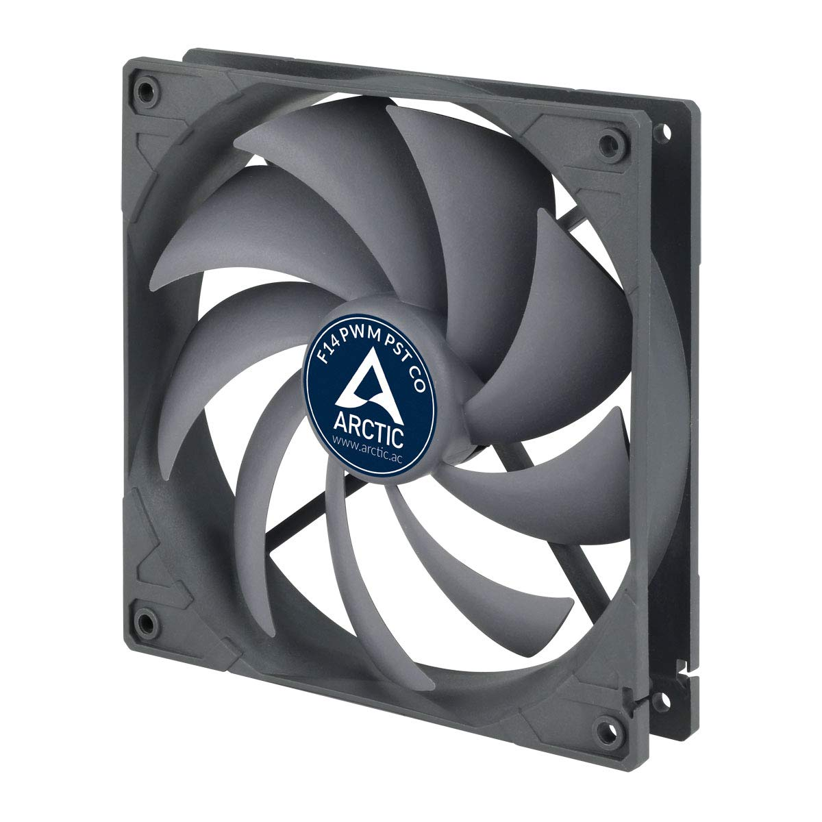 ARCTIC F14 PWM PST CO, 140 mm High Performance PWM PST Fan for Continuous Operation, Case Fan with Patented PWM Sharing Technology (PST)