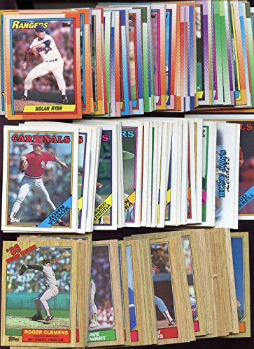 1987 1988 1990 Topps Baseball Card Complete Set In Full Box Collection