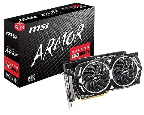 MSI Gaming Radeon RX 590 256-Bit DP/HDMI/DVI 8GB GDRR5 HDCP ...