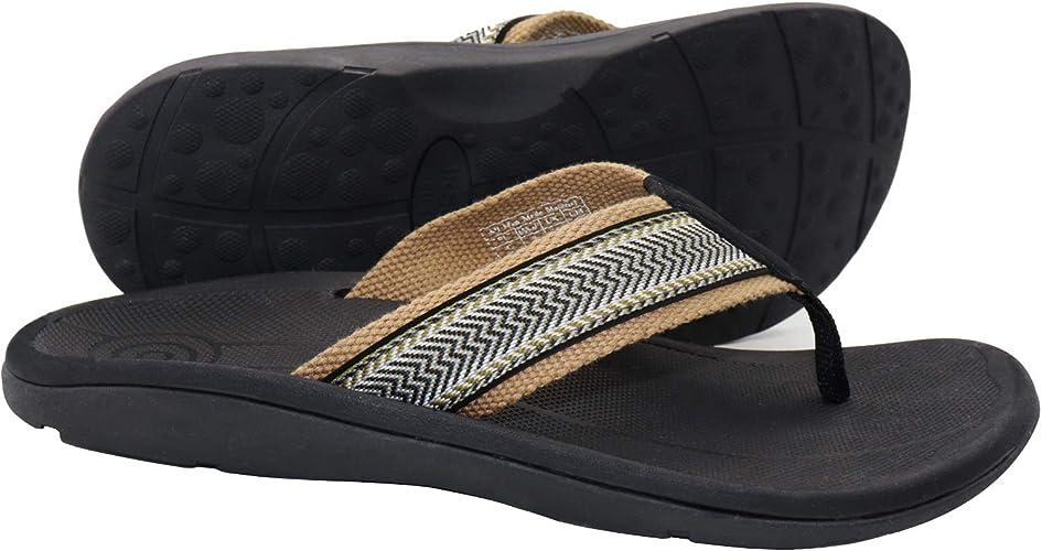 IRSOE Plantar Fasciitis Men's Sandals