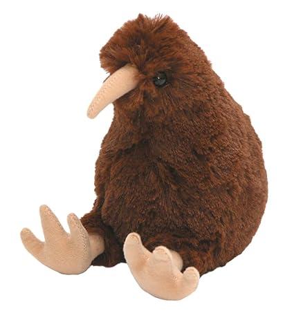 Amazon Com Small Kura Kiwi New Zealand Maori Plush Toy With Sound