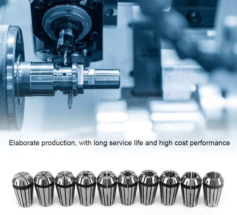 Portautensili per tornio 10 pezzi Set di pinze Set di pinze a molla ER16 Pinza di serraggio per macchina per incidere di CNC