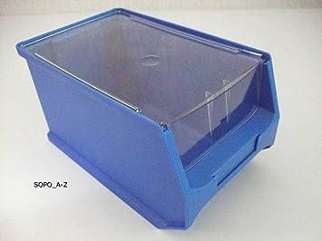 Abdeckung Fur Sichtlagerbox Gr 3 10 Stuck 3 0 Amazon De Baumarkt