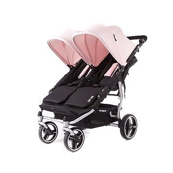 Baby Monsters- Silla Gemelar Easy Twin 3.0.S (Silver) - Color Rosa Cupcake + REGALO de un bolso de polipiel (capota normal) Danielstore: Amazon.es: Bebé