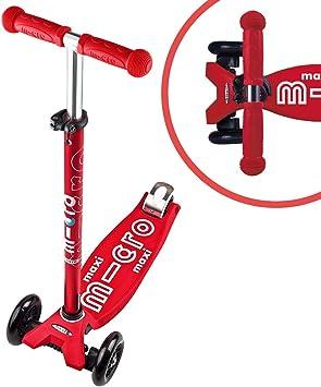 Amazon.com: Patinete Micro Maxi Deluxe, Rojo: Toys & Games