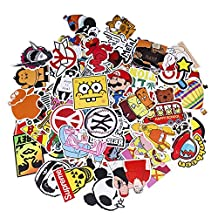 Love Sticker Pack 100-Pcs Sticker Decals Vinyls for Laptop,Kids,Cars,Motorcycle,Bicycle,Skateboard Luggage,Bumper Stickers Hippie Decals bomb Waterproof