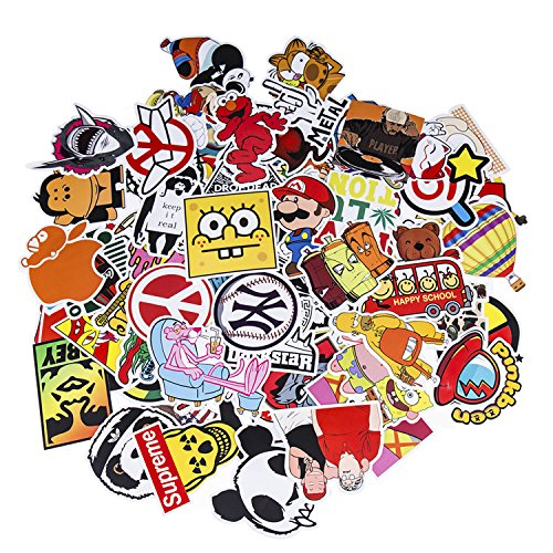 (Love Sticker Pack 100-Pcs Sticker Decals Vinyls for Laptop,Kids,Cars,Motorcycle,Bicycle,Skateboard Luggage,Bumper Stickers Hippie Decals Bomb Waterproof)