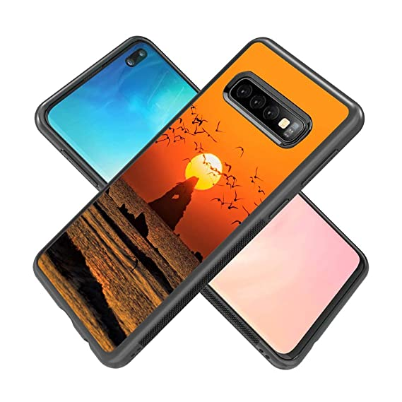Amazon com: Samsung Galaxy S10 Plus Phone Case, The Setting