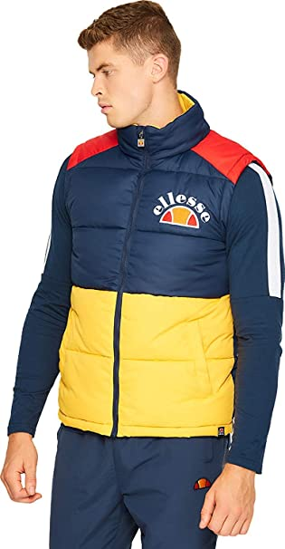 Amazon.com: Ellesse Sorbo - Chaleco para hombre, color azul ...