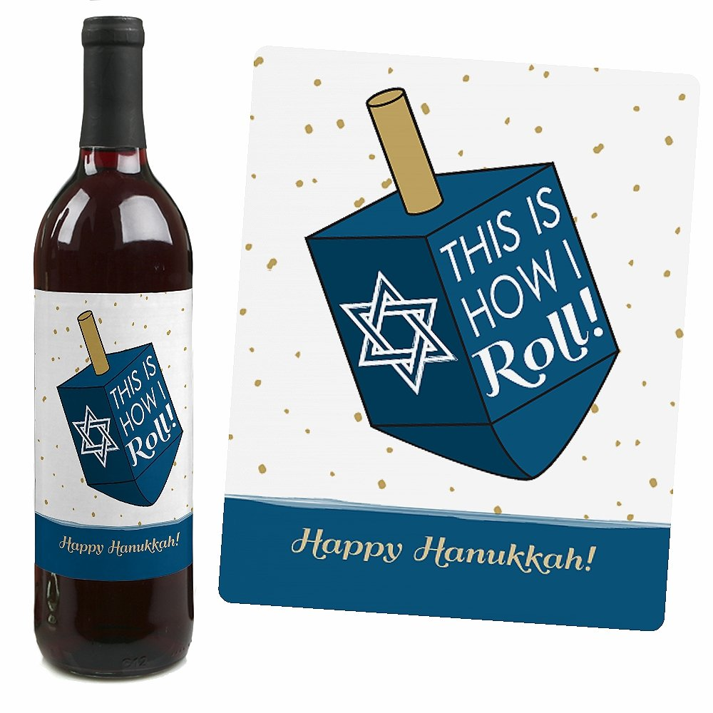 Four Unique Hanukkah Wine Designs
