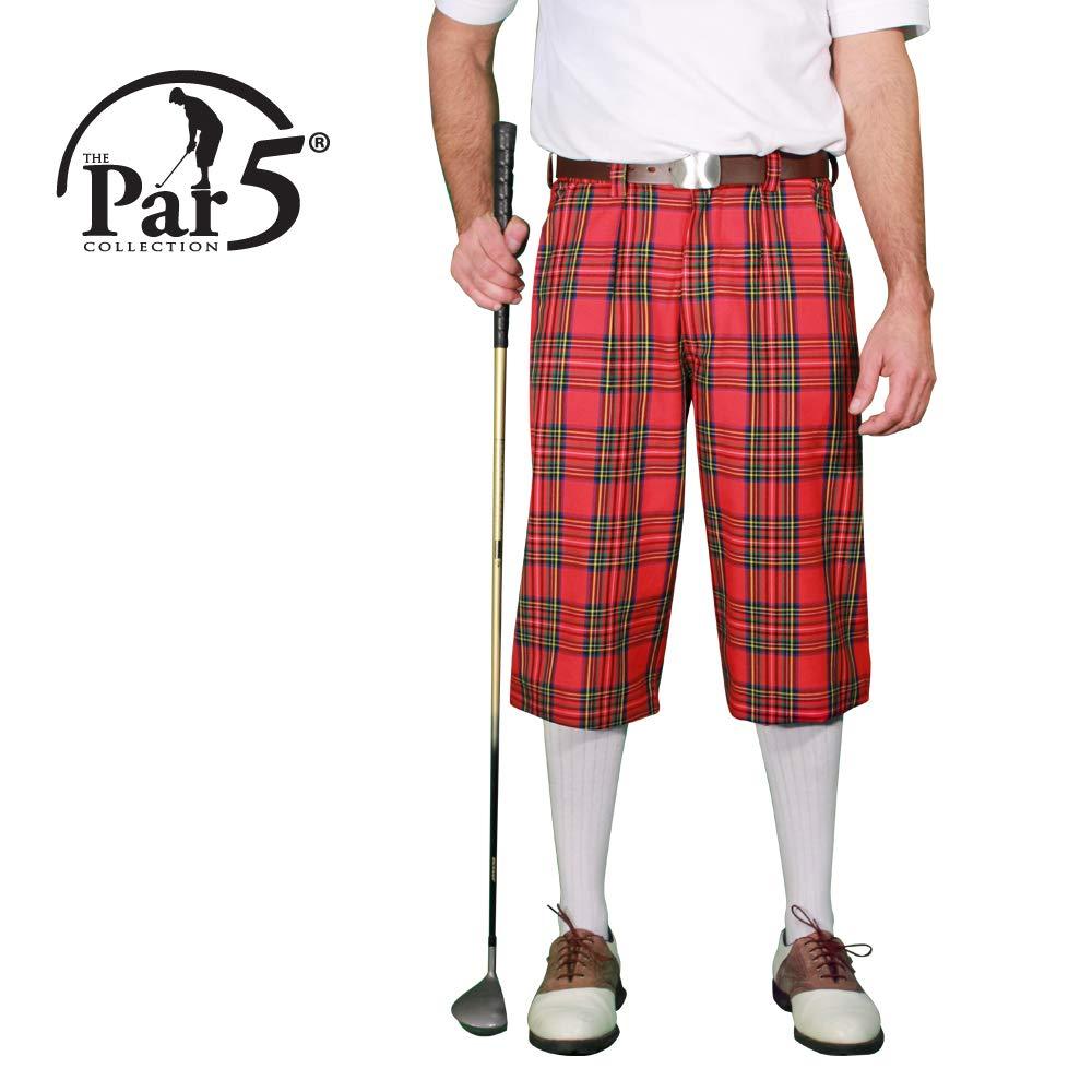 格子柄ゴルフKnickers :メンズ' Par 5 ' – Royal Stewart