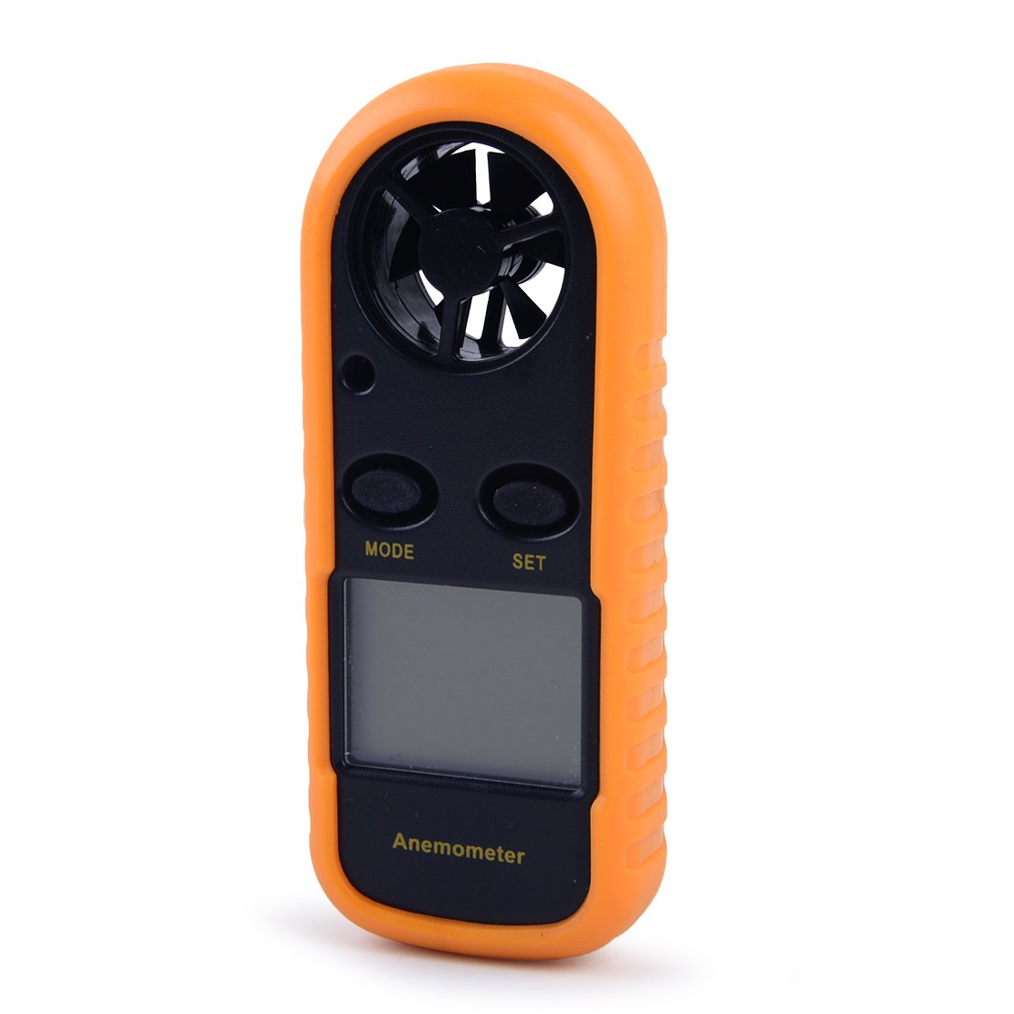 eastar Portable LCD Air Velocity Meter Digital Anemometer NTC Thermometer Wind Speed Gauge