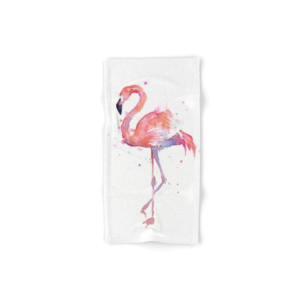 Society6 Flamingo Hand Towel 30''x15''