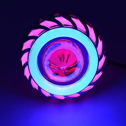 Moligh doll 12V Lampara luz de Cabeza de Motocicleta Proyector luz ...