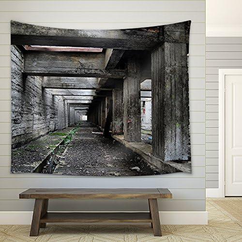 Lost City Near Chernobyl Area Kiev Region Ukraine Fabric Wall