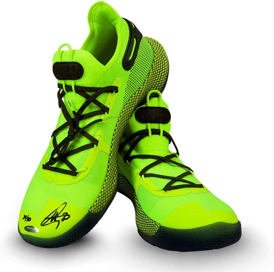 Stephen Curry Autographed Under Armour