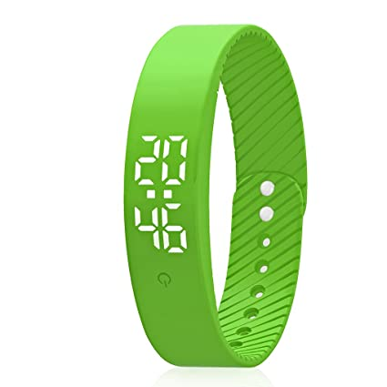 Amazon.com : Smart Wristband Pedometer Watch Non-Bluetooth ...