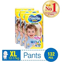 MamyPoko Standard Pants, XL, Case, 132ct