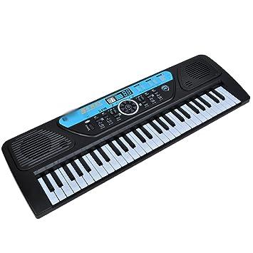 Teclado para niños 54 Teclado Qizhi Educación temprana con micrófono Cómo comenzar Aprendizaje Piano + Tutorial