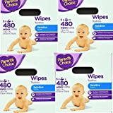 Parent's Choice Sensitive Wipes, 480 sheets (Pack of 4)