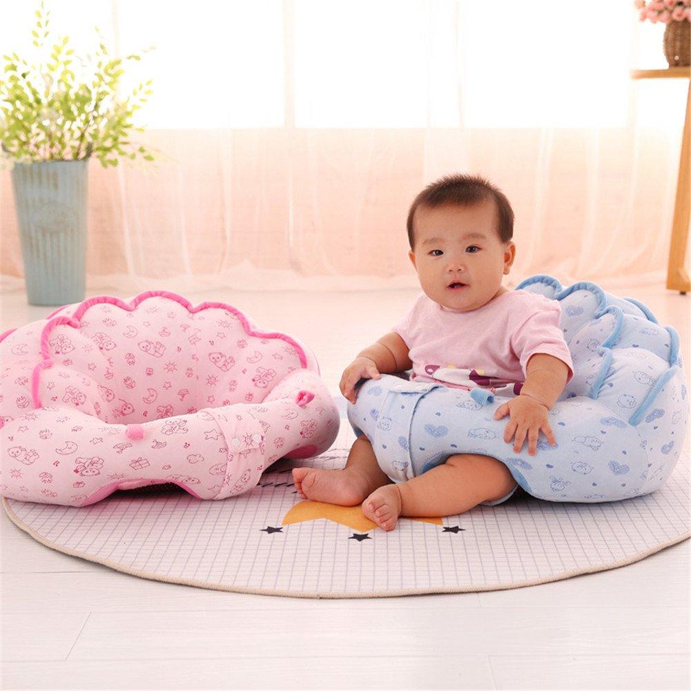 Bébé assis Chaise de bureau Chambre d'enfant protecteurs d'oreiller, motif coloré Lovely enfants bébé support de siège souple de voiture Coussin Oreiller Canapé en peluche Jouets – Meubles d'enfant rond Assise de chaise SWW